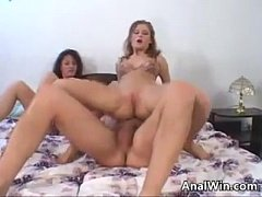 German Whores Fucking In A Threesome