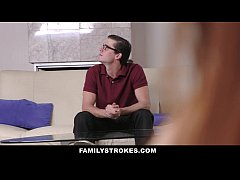 FamilyStrokes- Step-Sis Seduces Brother For Homework Answers