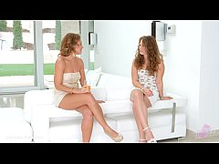 Sylvia Lauren and Bunny Babe chat and have hot lesbian sex by Sapphic Erotica