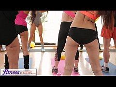 FitnessRooms Barbara Bieber has a sexual workou...