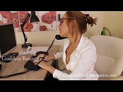 Roxanne boss in chastity trailer