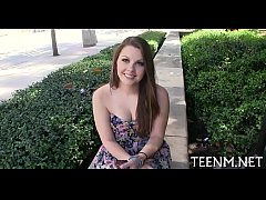 Money for legal age teenager cali hayes in exch...