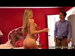 Shawna Lenee takes BBC in her pussy - Cuckold S...