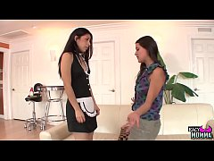 Cougar stepmom seduces teens into taboo trio
