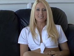 Smoking Hot Blonde Gets Stuffed And Receives A Cream Pie