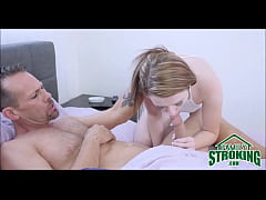 Daughter Wakes Up Step Dad For Fucking While Mom Sleeps - FamilyStroking.com