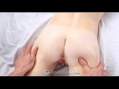 FantasyHD - Little blonde Maddy Rose has sweaty workout sex