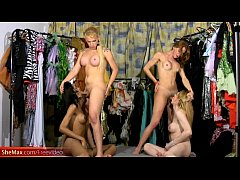 Blonde trannies get anal fucked by black shaft ...