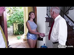Busty Student Ivy Rose visited us to suck and f...