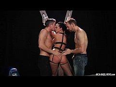 Jada Stevens loving hard anal and double penetration sex