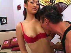 Asian Evelyn Lin fucks Tommy Gunn