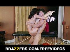 Cute redhead teen Kaite Jordan gets a sensual massage