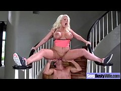 Hard Sex With Bigtits Hot Housewife (alura jens...