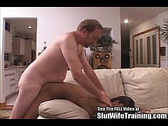 Athletic Lesbian Wife Cock Training To Fuck Wit...
