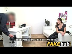 Fake Agent Amazing French beauty with perfect b...