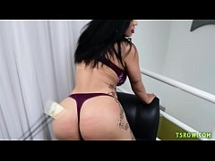Brazilian TS Sabrina Souza Fucked Bareback