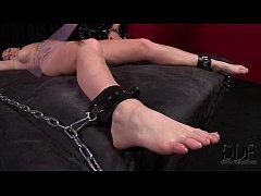 Kinky Mistress Black Punishes Slavegirl Paige's Snatch & Ass