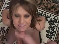 Blonde slut getting fucked hardcore