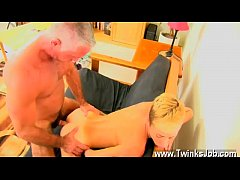 Extremely Cute Twink Having Rough Sex With Fit Daddy