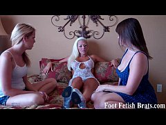 Stripper makes her roommates worship her feet