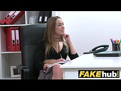 Female Agent English stud cheats and pounds sex...