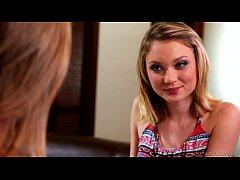 Kota Sky and Jillian Janson Hot Teen Lesbians