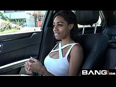 BANG Real Teens: Brittney White No Panty Double D Queen