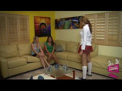 Samantha Ryan, Allie Haze and Isis Taylor Lesbian 3Some