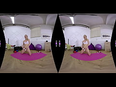 SexLikeReal-Morning Pussy Workout In Gym 180VR ...