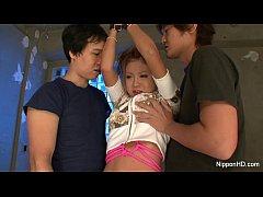 Bad little Asian girl gets punished