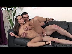 Tall young newcomer carefully fuck Mea Melone a...