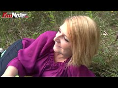 FUN MOVIES Amateur Mature Lesbians fucking in t...