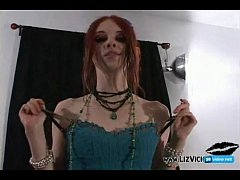 gothic girl creampie POV