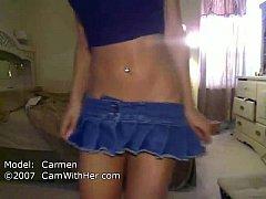 Carmen webcam strip
