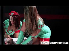 Brazzers - Sexy nurses Dani and Luna help with ...