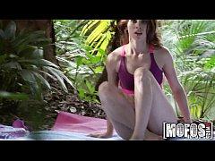 Mofos - Yoga Brunette's Forest Fuck