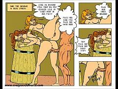 2D Comic: Horny Saga