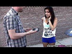 ExxxtraSmall - Petite latina Selena Santoro's tight pussy gets fucked