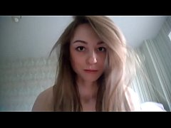 cute pretty girl gives sweet blowjob and get fu...