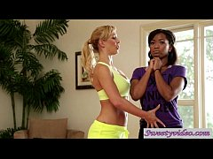 Pussy yoga with MILF Cherie De Ville and Ivy Sh...
