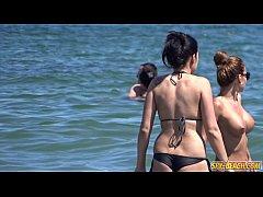 Voyeur Beach Big Boobs Topless Amateur Hot Teens HD Video