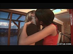 Hot Lesbian Eating Pretty Pink Pussy Eachother