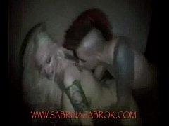 Sabrina Sabrok fuck with her boyfriend