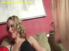 Blonde Learns to Suck Black Cock