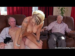Young Girl Gets Backstage Pass from Horny Old B...