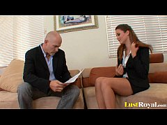 Lawyer in training Allie Haze  gets thoroughly ...