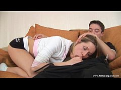 FirstAnalQuest.com - ANAL SEX ORGASM FROM FUCKING A PERFECTLY CUTE TEEN GIRL