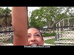 TheRealWorkout - Busty Latina Loves To Play wit...