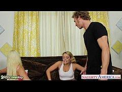 Blondes Anikka Albrite and Mia Malkova fucking ...