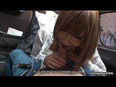 Miyashita loves to be publicly toy stuffed by h...